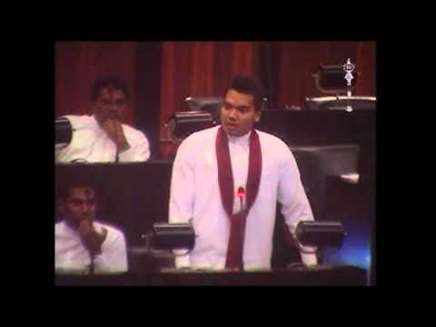 MP Namal Rajapaksa on Poaching by Indian Fishermen in Sri Lankan Waters.