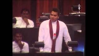 MP Namal Rajapaksa on Poaching by Indian Fishermen in Sri Lankan Waters.