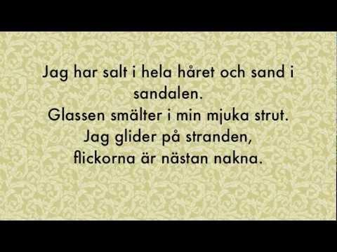 Björn Rosenström - Het - Lyrics