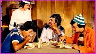 Rajinikanth Comedy Scene With Servant - In Debbaku Debba Telugu Movie