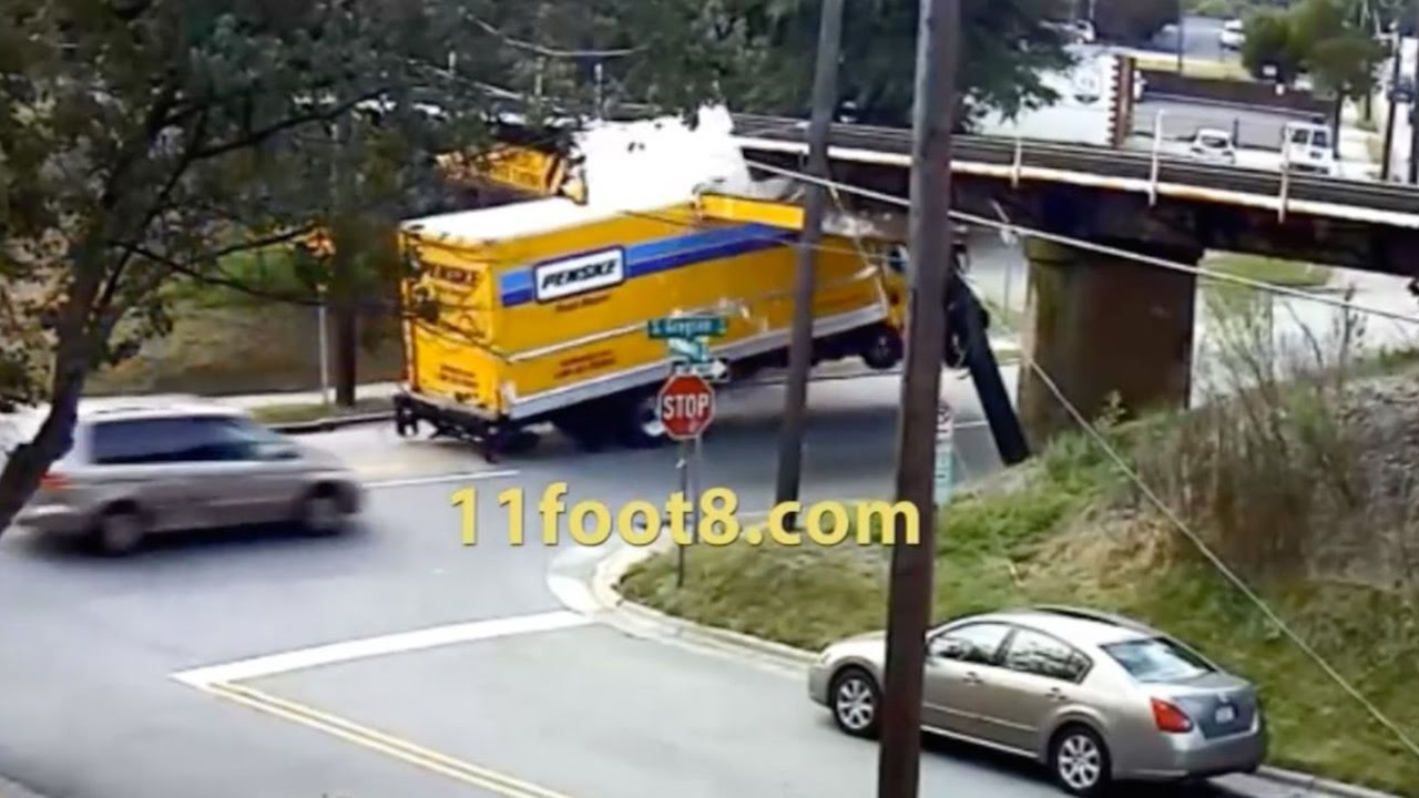 The Definitive 11foot8 Bridge Crash Compilation