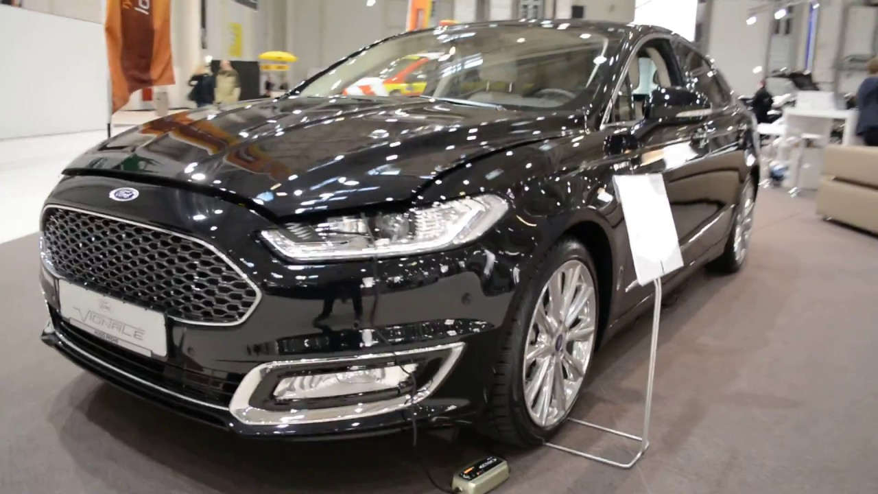 2017 new ford mondeo vignale exterior and interior youtube. Black Bedroom Furniture Sets. Home Design Ideas
