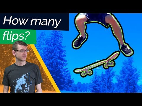 How Many Flips are Possible on Flat? 5? 6? 7? | Skate Physics