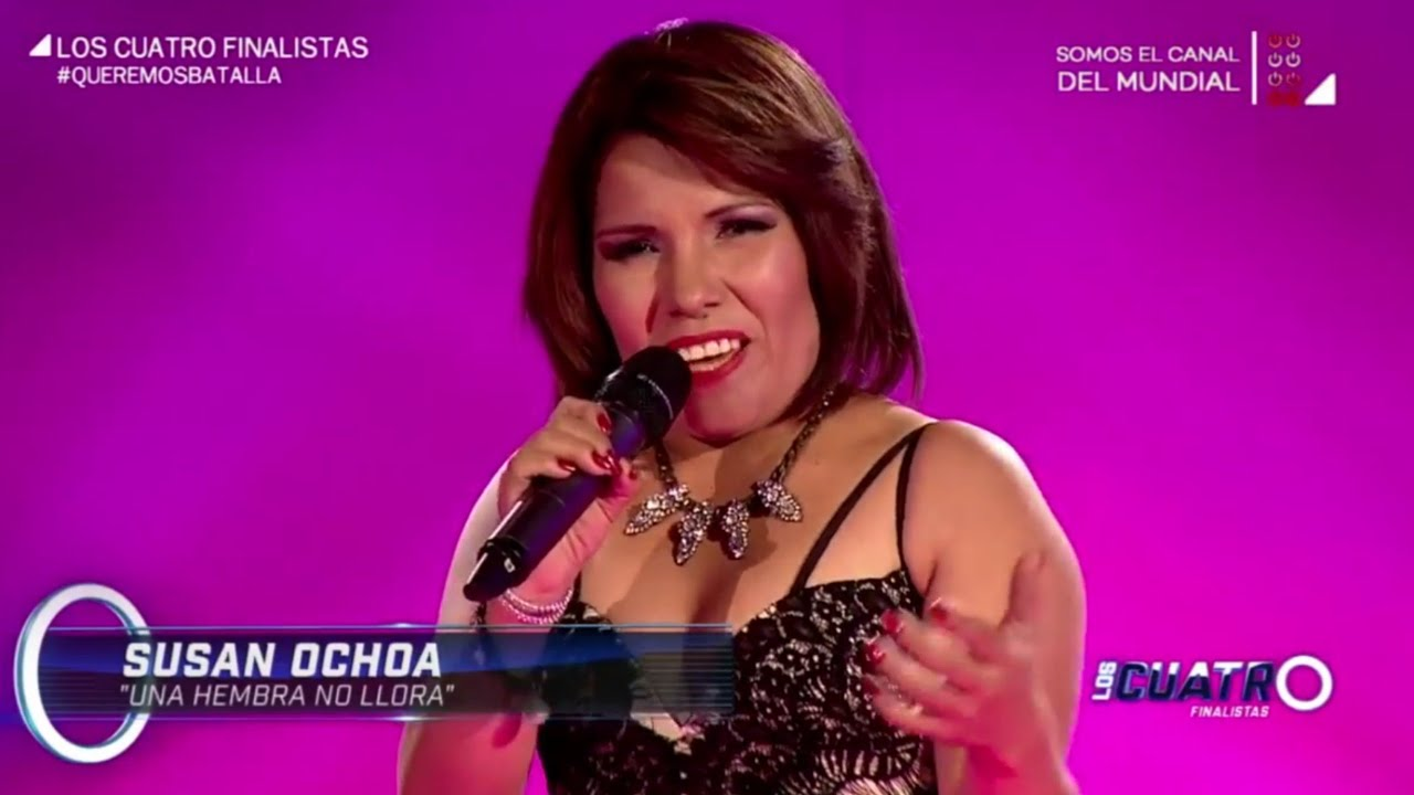 Download Susan Ochoa - Una hembra No Llora HD (Cover) (Los Cuatro Finalistas)