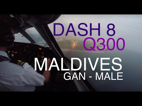 Q300 Paradise Maldives - Gan to Male Intl.
