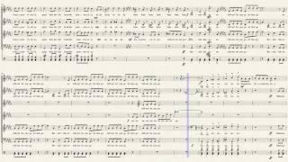 Bohemian Rhapsody - Pentatonix (Full Sheet Music w/ Lyrics)
