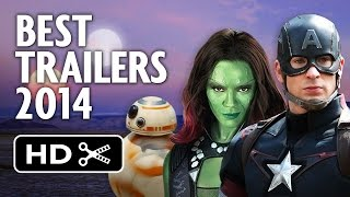 Best Trailers of 2014 - Movie Mashup HD
