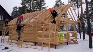 видео Строительство деревянных домов и бань