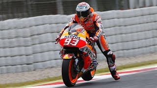 The Leg Dangle EXPLAINED - Why do Moto GP racers wave their leg when going into corners? thumbnail