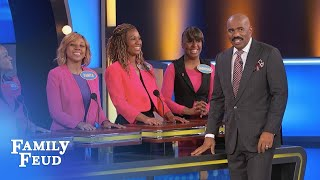 Let's call the WHOLE THING OFF!!! | Family Feud