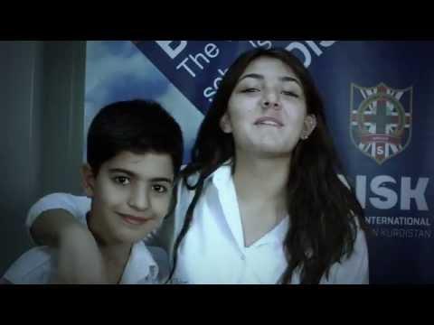 المخرج اياد الحيدري reklam kurdi British International School in kurdistan ayad haidari  mov