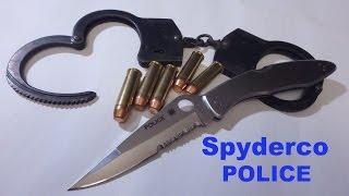 spyderco Police - культовая классика вопреки несовершенству