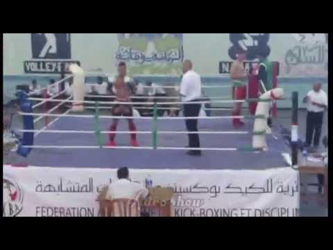 La Finale De Championa National D'Algérie (muay Thai)