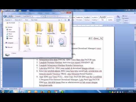 Cara Download Idm Full Version Tanpa Registrasi