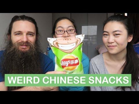 Chinese Snacks Taste Test!