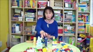 Играем с мамой. Легкие игры на развитие речи. Кубики. Ранее развитие