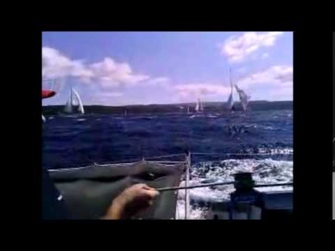 MRDUJA 2014. BROKEN MAST - SAILING CRASH - CROATIA 83.MRDUJA