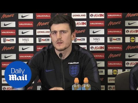 England defender Harry Maguire on his time at Sheffield United