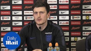 England defender Harry Maguire on his time at Sheffield United - Daily Mail