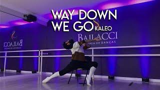 WAY DOWN WE GO - Kaleo | Chair Dance / Coreografia Carlos Guerreiro