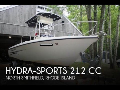 [UNAVAILABLE] Used 2003 Hydra-Sports 212 CC in North Smithfield, Rhode Island