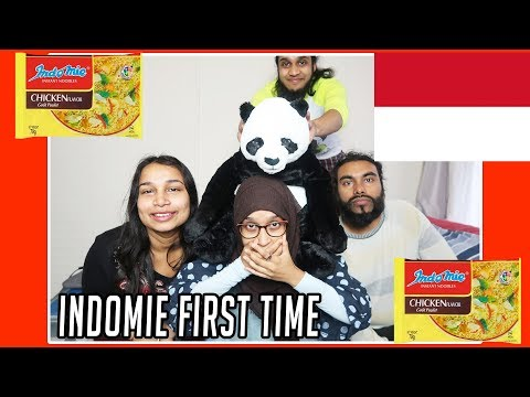 Muslims Try Indonesian Noodles For The First Time MUKBANG