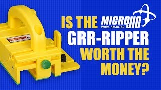 Is the MicroJig Grr-Ripper worth your money? Here are my thoughts on this popular woodworking tool.