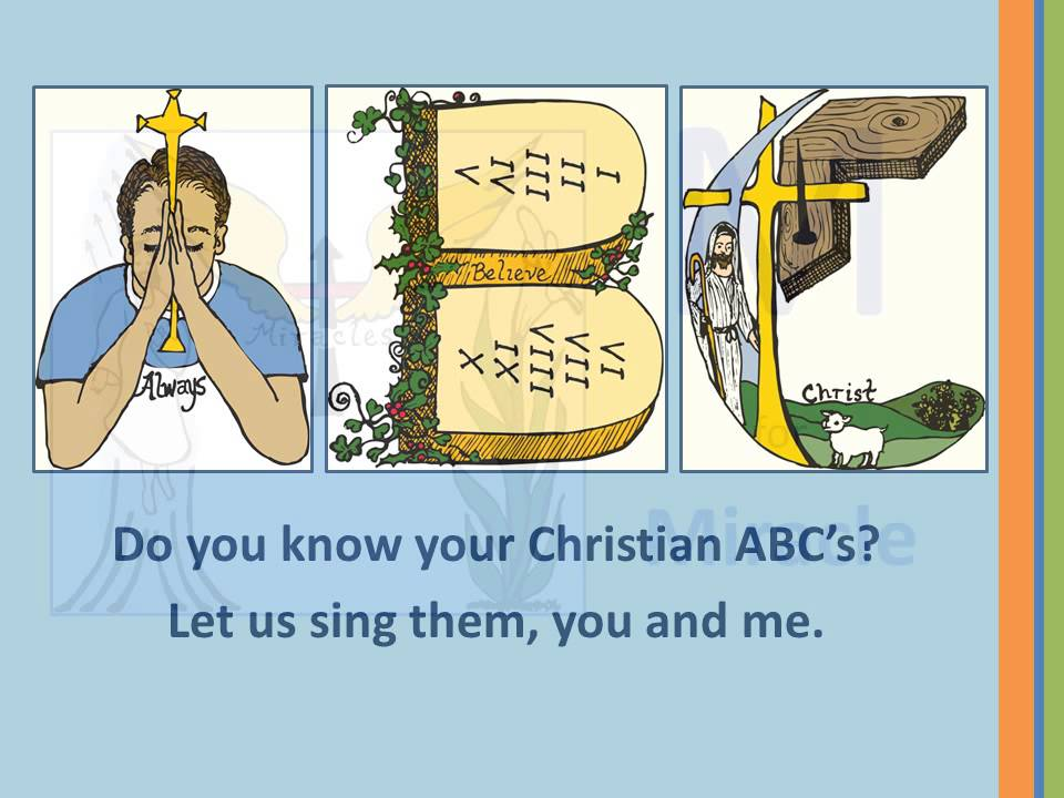 nativity alphabet and religious songs Teach kids the true meanng of christmas with these christmas nativity and angel  on christmas religious kids songs by  letter of the alphabet.
