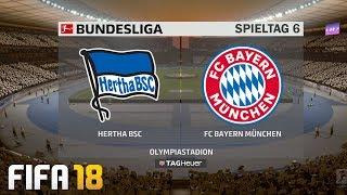 ⚽ fifa 19 bundesliga hertha bsc : fc bayern münchen 🏆 gameplay deutsch livestream