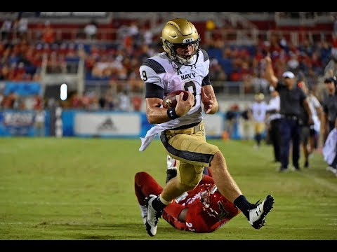 Football Highlights - Navy 42, FAU 19