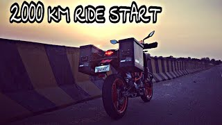 2000 KM RIDE Start | MOUNT ABU | ep.01