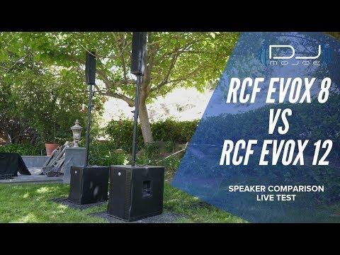 Which Is Better? RCF EVOX 8 Vs RCF EVOX 12 - Speaker Test