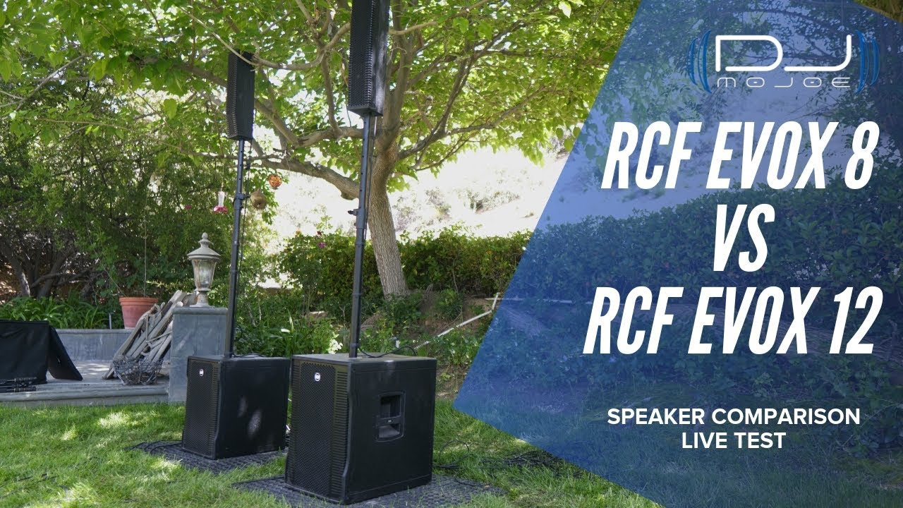 Which is better? RCF EVOX 8 vs RCF EVOX 12 - Speaker Test