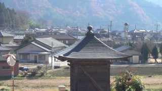 火の見櫓の風景002・薬師堂の向こう~安富町塩野~