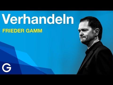 Die Verhandlungen des Lebens // Frieder Gamm