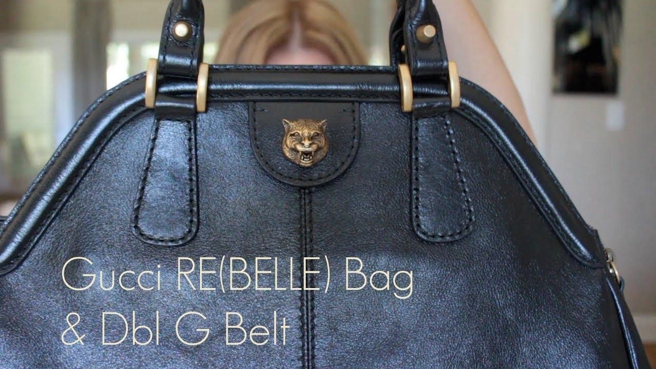 6db7858385ea Gucci RE(BELLE) Bag & GG Belt - YouTube