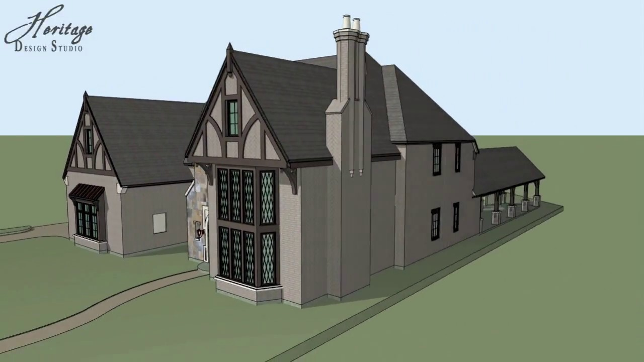 residential architecture english tudor revival youtube
