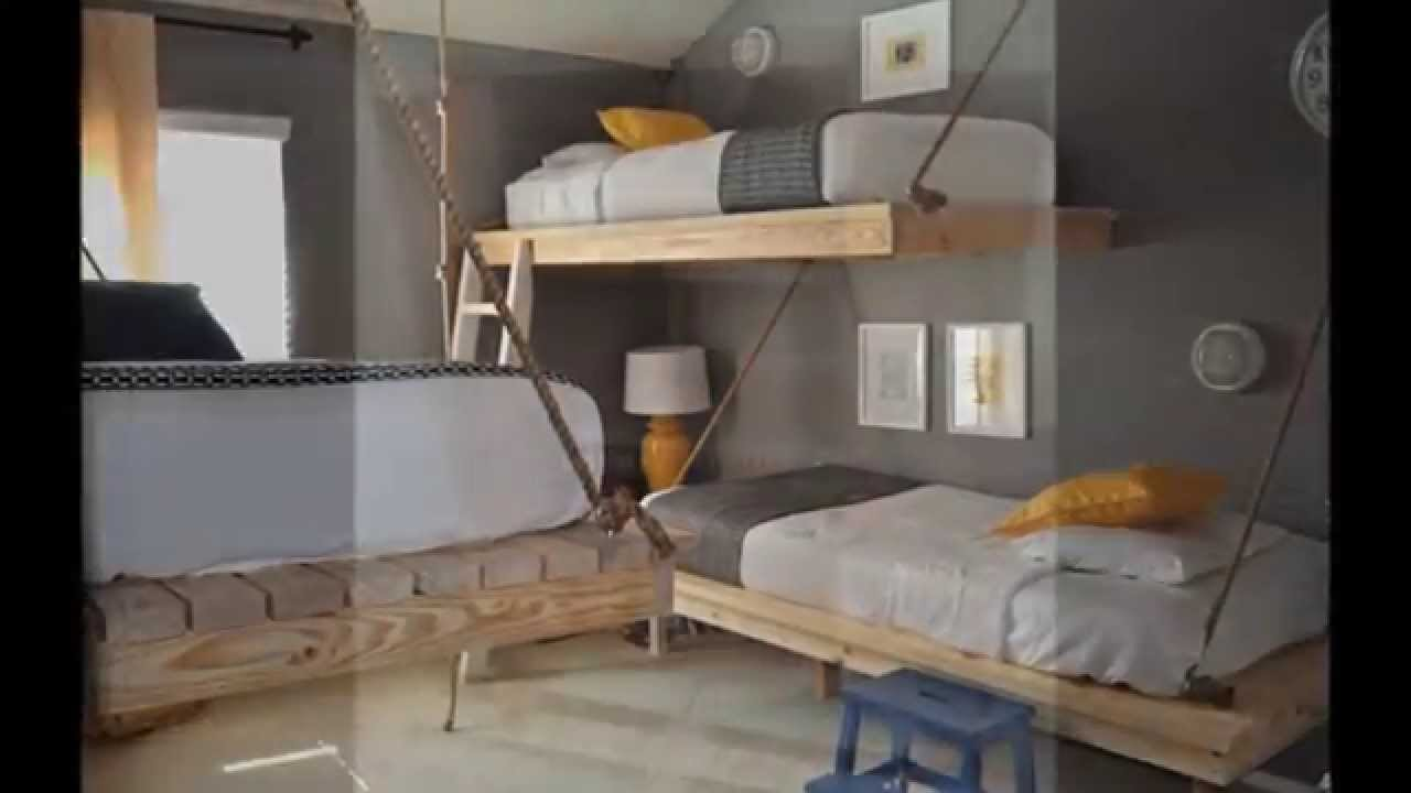Top 30 idee mobili pallet per la camera da letto youtube - Letto in pallet ...