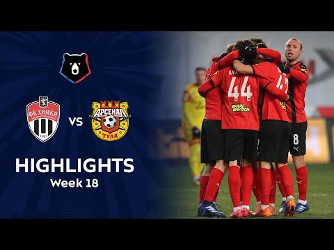 Khimki Arsenal Tula Goals And Highlights