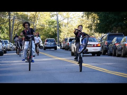 CITY RIDERS SHOW LOVE ON STATEN ISLAND