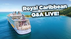 Royal Caribbean questions answered LIVE!