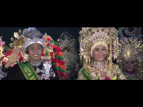 Pemilihan 6 Besar  Pada Malam Penobatan Duta Wisata Aceh 2016