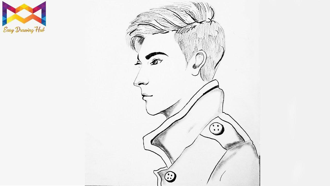 Pencildrawing boydrawing sketch