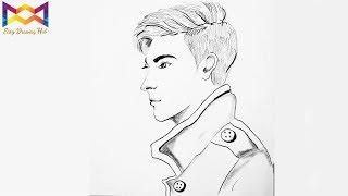 boy draw drawing face step beginners stylish
