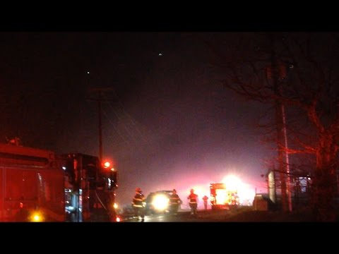 Multi Alarm Mountain Fire With Heavy Wind Conditions - Mt. Penn, Reading PA 11/21/16