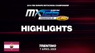 EMX125 Presented by FMF Racing Highlights  Race1   Round of Trentino 2019 #motocross