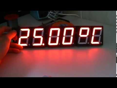 DIY Accurate Digital Wall Clock - YouTube