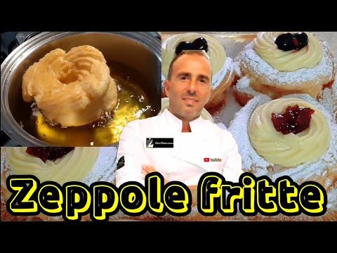 Zeppole fritte di San Giuseppe svelati tutti i segreti #simoneespositopasticciere#zeppolefritte