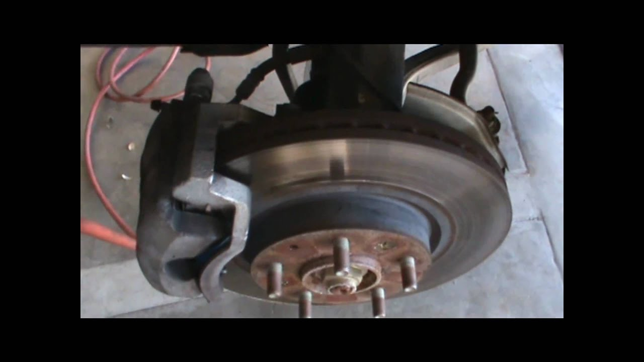 When To Replace Brake Rotors >> Replacing Brake Pads and Checking Rotors - YouTube