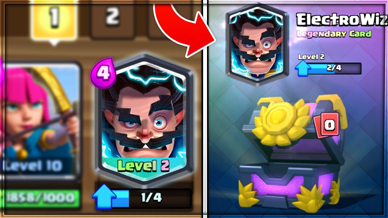 omg how to get a free electro wizard in clash royale youtube